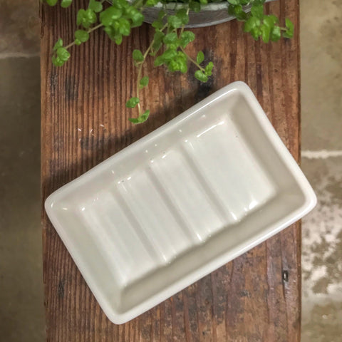 Rectangle Ceramic Soap Dish