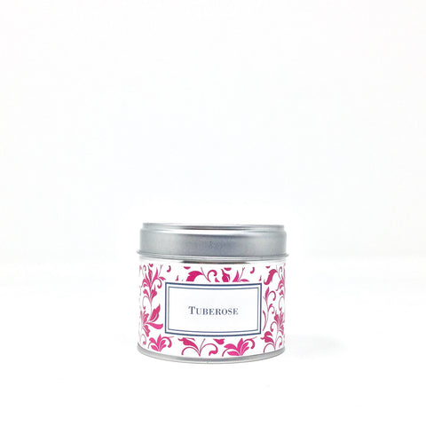 Tuberose Candle in a Tin