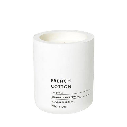 Blomus Large French Cotton Scented Candle
