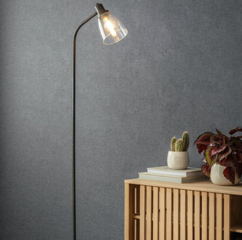 Hoxton Antique Bronze Floor Lamp