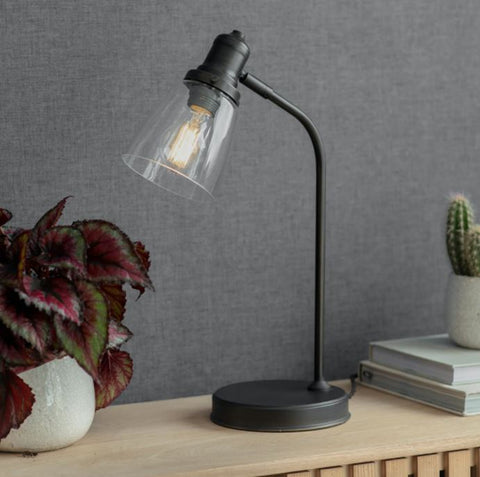 Hoxton Antique Bronze Table Lamp