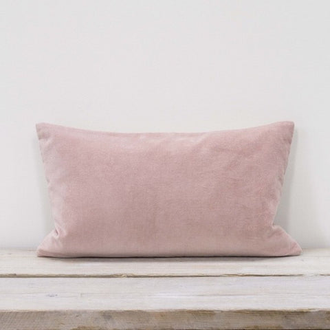 Millenial Blush Pink Velvet Cushion