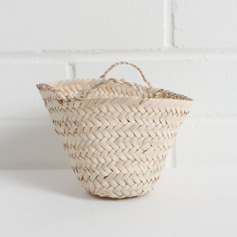 Small Palm Leaf Basket
