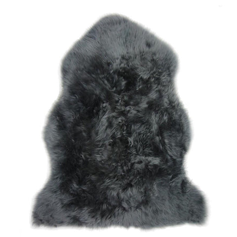 Single Sheepskin in Dark Grey