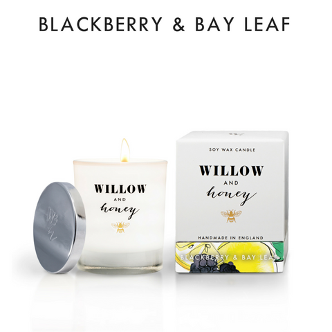 Willow and Honey Blackberry and Bay Scented Candle
