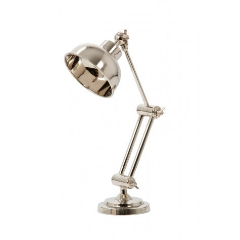 Nickel Desk Lamp