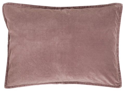 Large Rectangular Velvet Cushion Dusky Pink