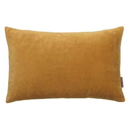 Velvet Rectangle Cushion in Dijon