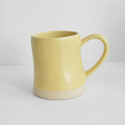 Dassie Artisan Mug in Yellow
