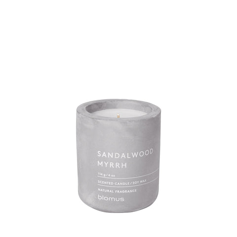 Blomus Sandalwood and Myrrh Scented Candle