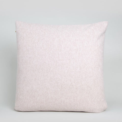 Square Felt Cushion in Pale Blush