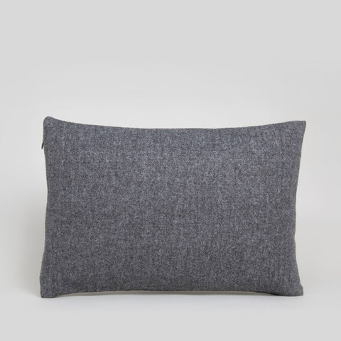 Rectangle Felt Cushion in Charcoal