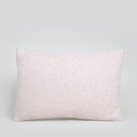 Rectangle Felt Cushion in Pale Blush