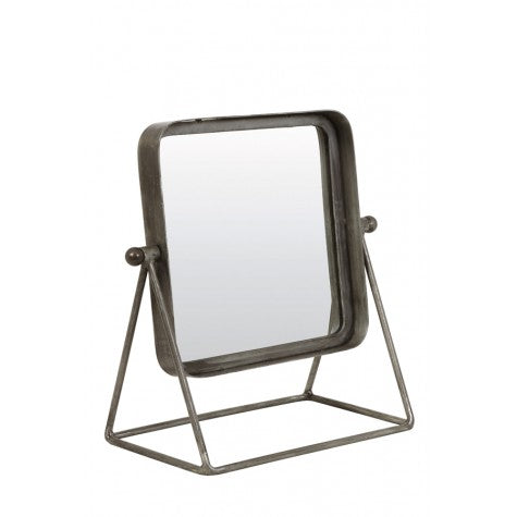 Sqaure Mirror On Stand