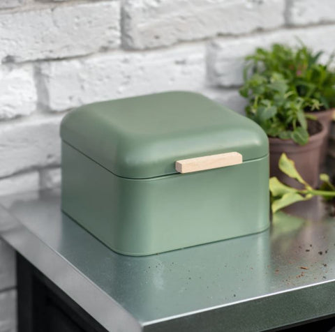 Green Storage Tin Small