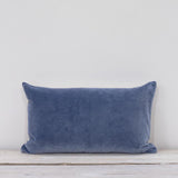 Velvet Rectangle Cushion Fjord