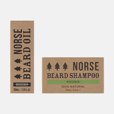 Woodsman Beard Oil and Shampoo Bundle
