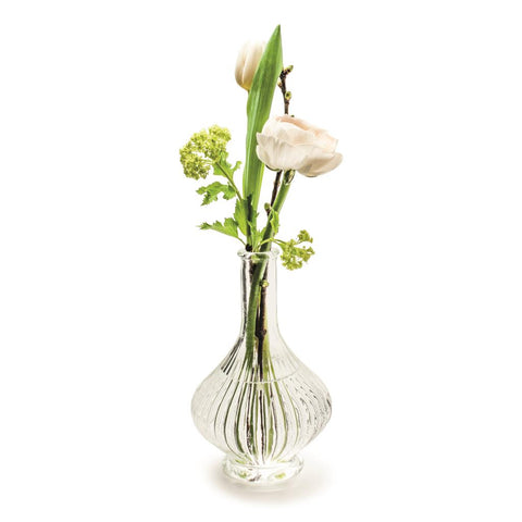 Sofia Fluted Glass Vase