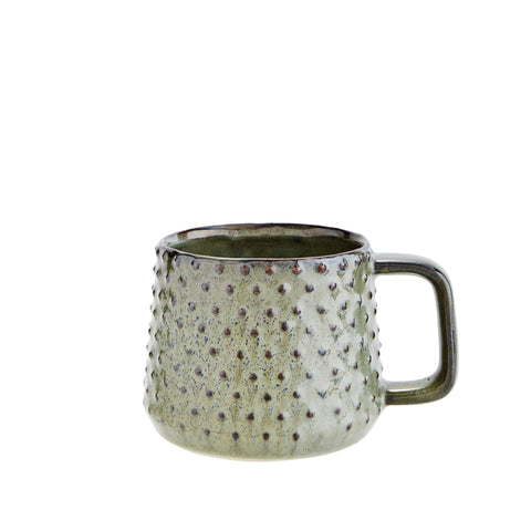 Dotty Green Mug