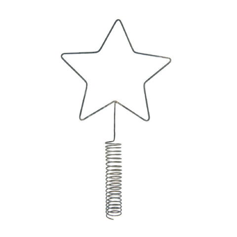Zinc Star Tree Topper