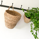 Light Brown Hanging Basket - Large
