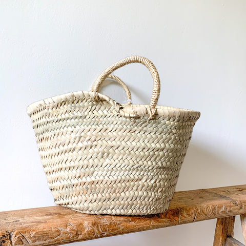 Small Rope Handle Basket