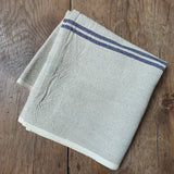 Natural Linen Stripe Table Runner
