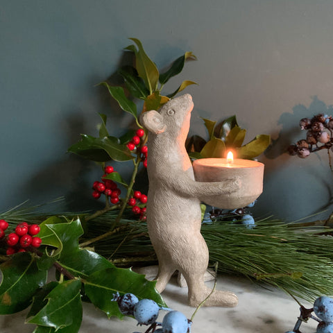 Stargazing Mouse Tealight Holder