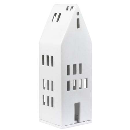 Porcelain Light Up House Tall