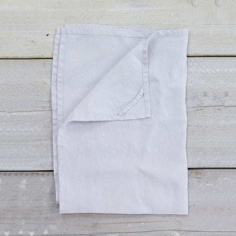 Linen Teatowel in Dove Grey