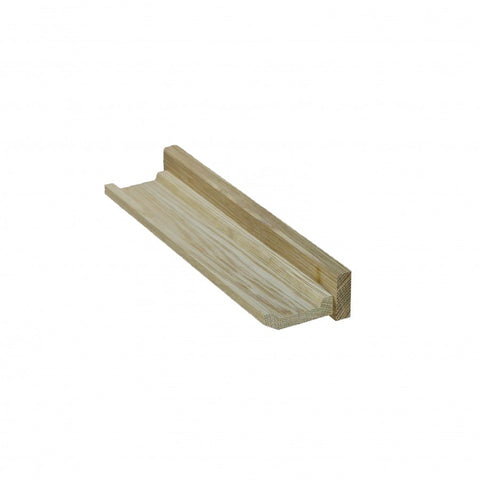 Oak Picture Shelf Short