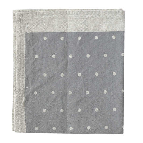Pair of Grey Dotty Napkins