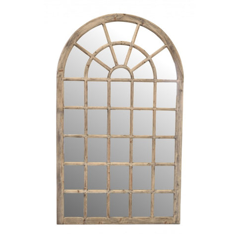 Igigi Georgian Style Arch Window Mirror