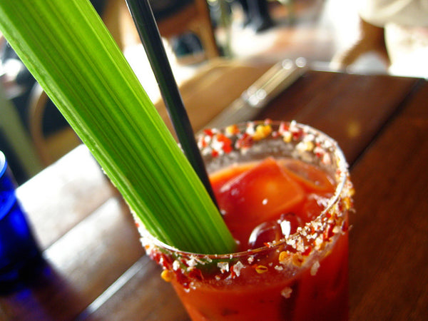 Smoky Tea Infused Bloody Mary