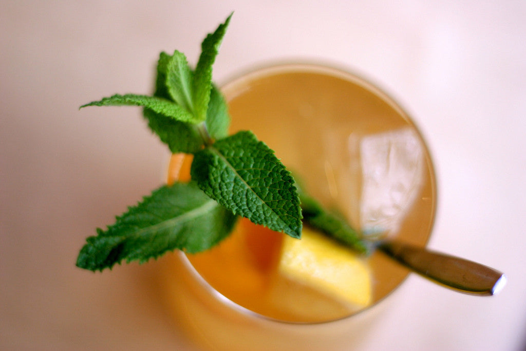 Minty Persian Melon Iced Tea for Summer