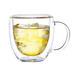 Double Wall Glass Cup - Set of 2