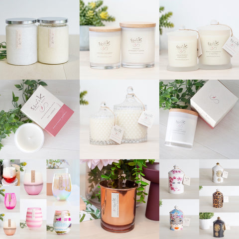 Candle ~ Multi Buy - 2 from $52!