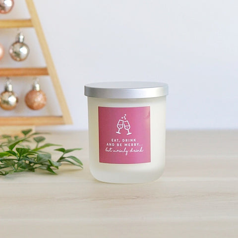 Candle ~  Christmas Collection ~ Eat, Drink & Be Merry