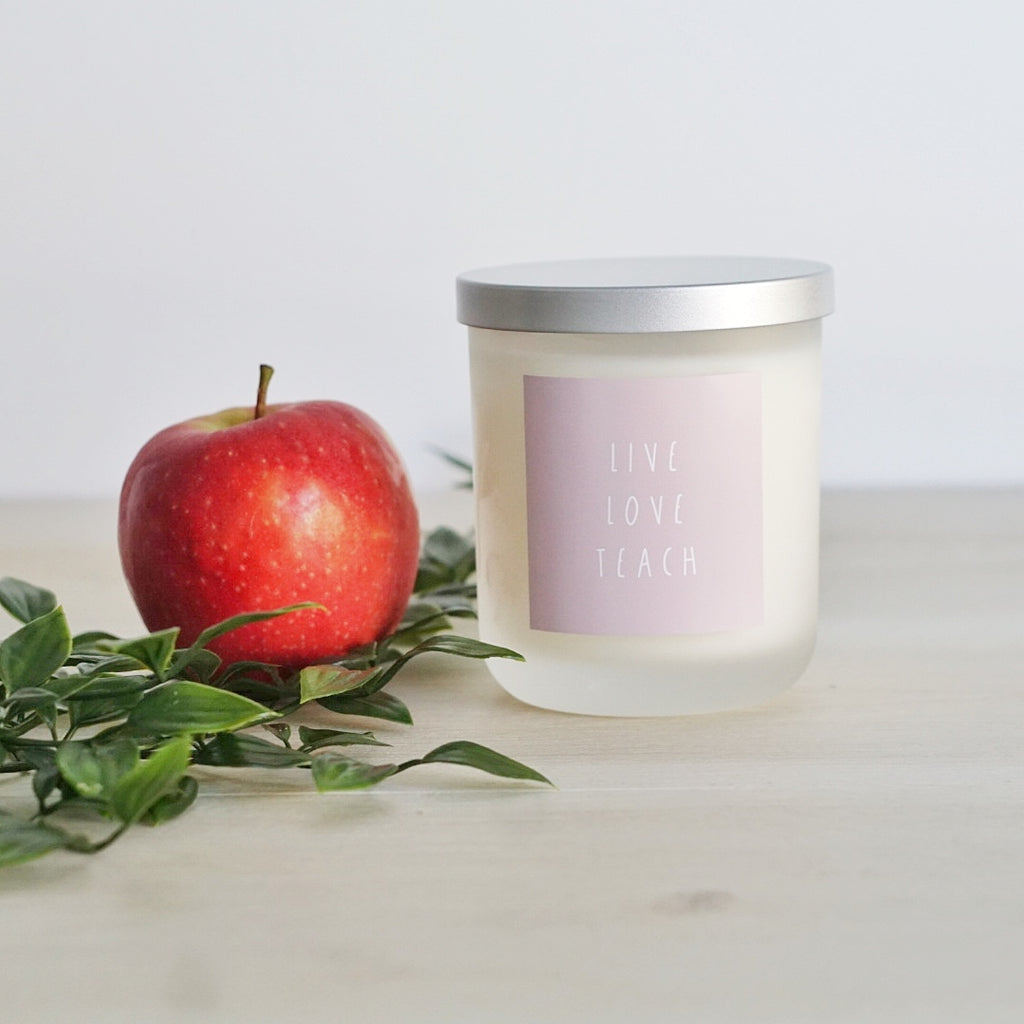 Candle ~ Teachers Appreciation ~ Pastels Collection