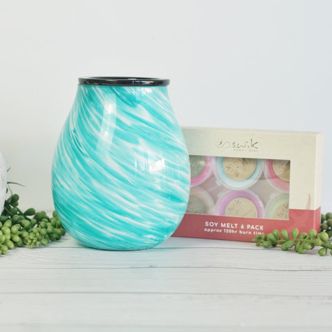 Glass Beachside - Electric Wax Melt Burner