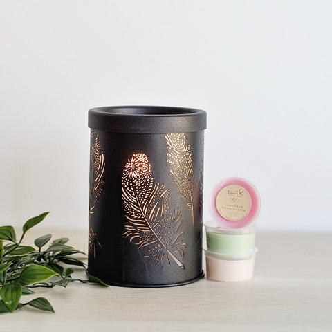 Black Feather - Electric Wax Melt Burner