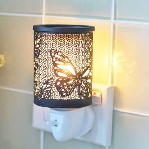 Butterfly Black - Plugin Electric Wax Melt Burner