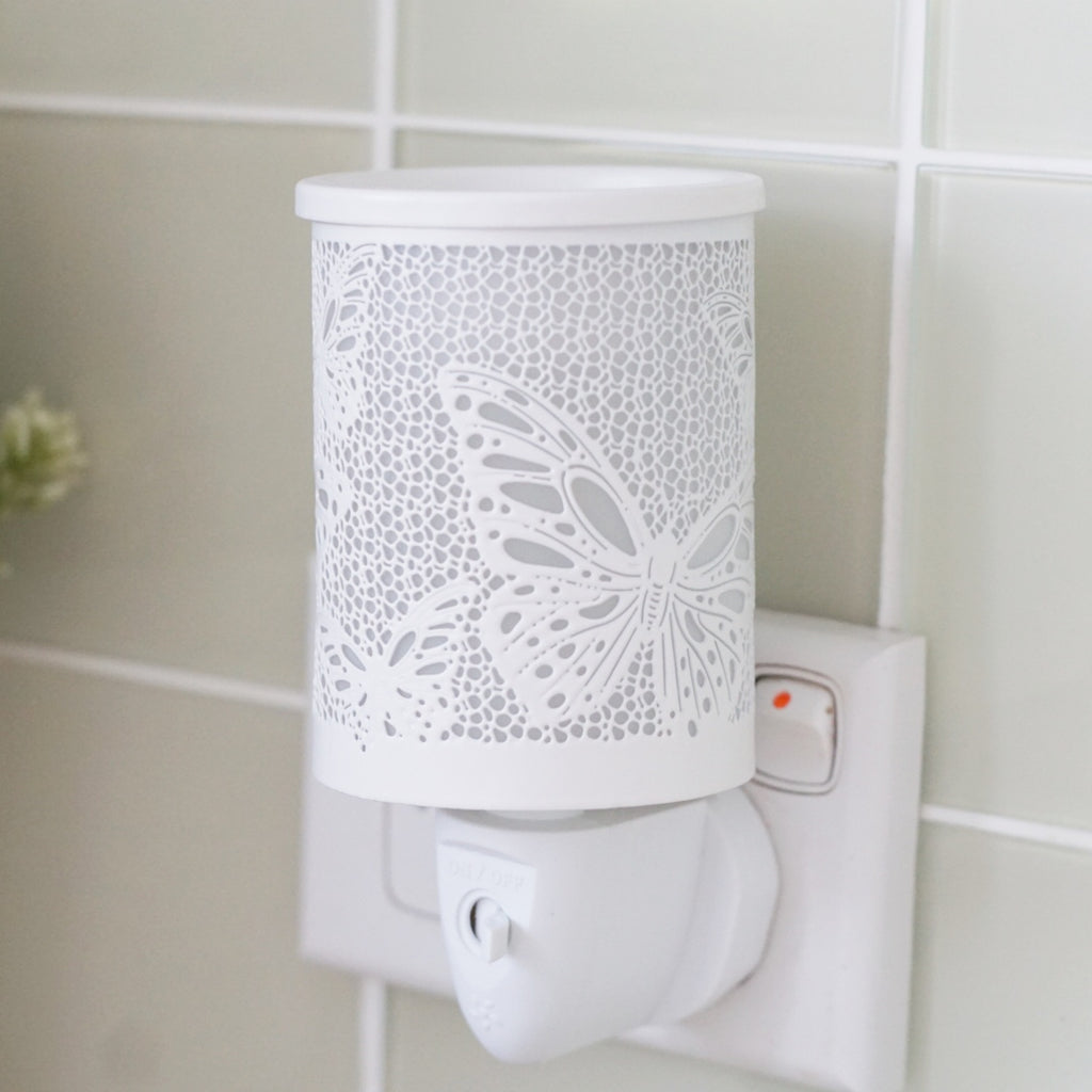 Plug-In-Wax-Melt-Burner-Butterfly-White