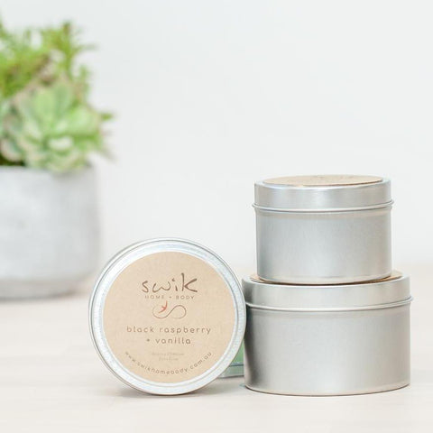 Soy Candle Travel Tins - 2 Tin Gift Pack