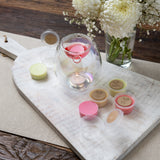 Glass - Tealight Wax Melt Burner + 6 Melts Pack