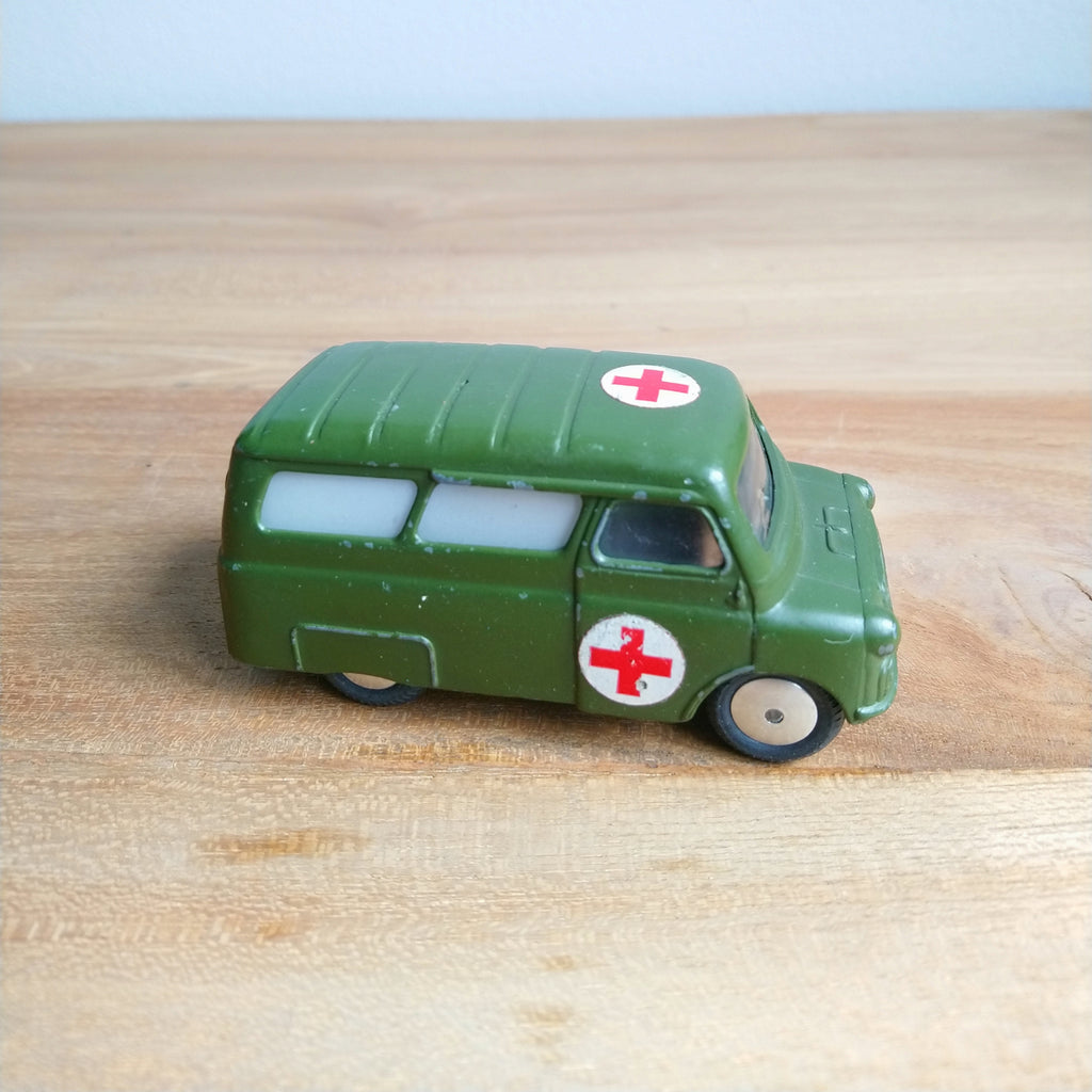Corgi Toys #414 Bedford Utilicon Military Ambulance