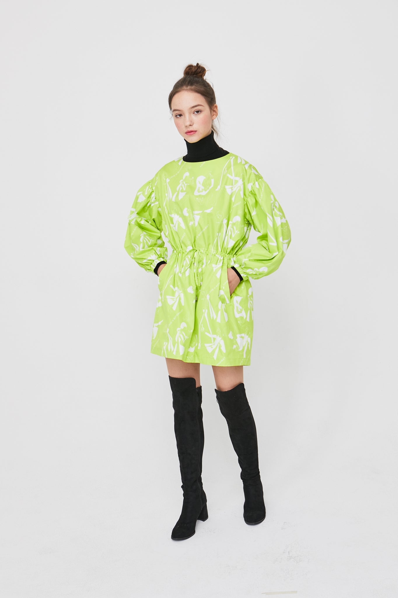 Love is Bittersweet Dress- Neon Lime