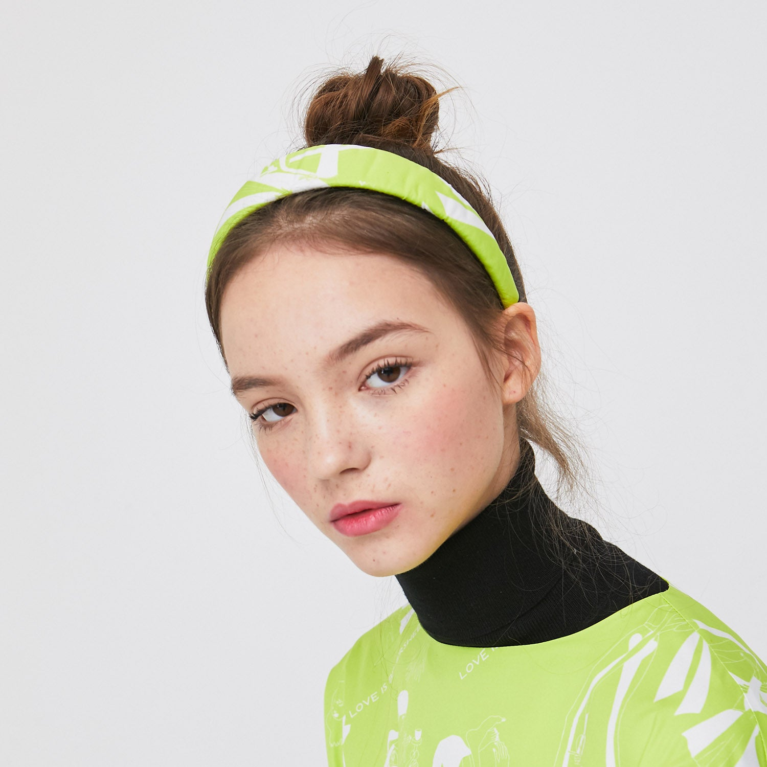 Love is Bittersweet Headband- Neon Lime