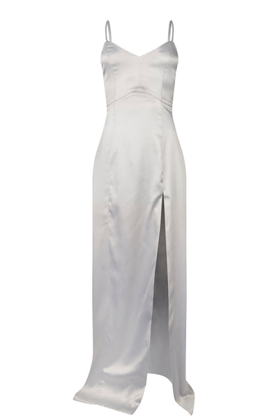 Oxford Satin Dress - Silhou