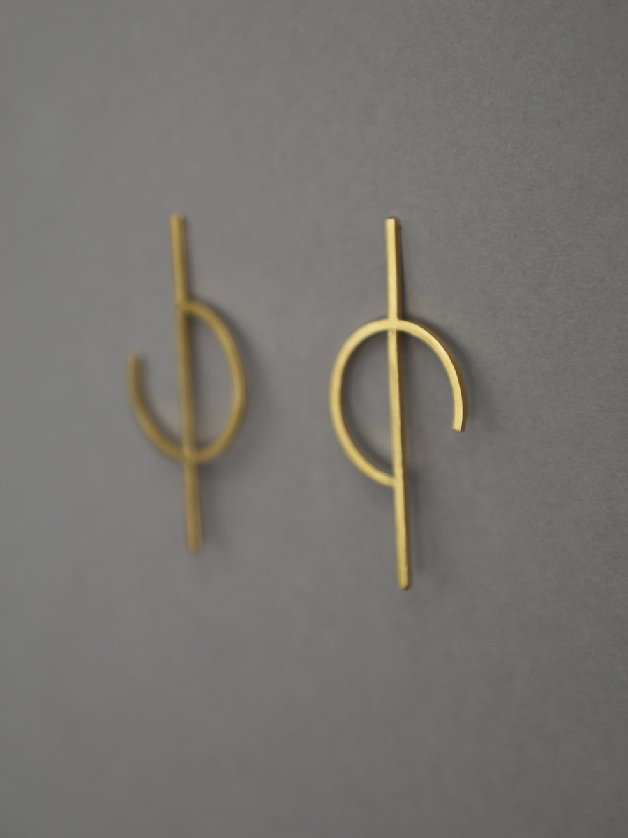 Riley Asymmetric Earrings